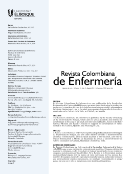 Hojas preliminares - Universidad El Bosque