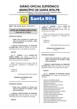diário 152 – 28/03/2014