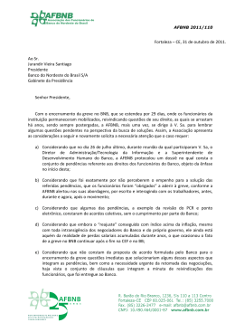 Bnb Carta Presidente Banco