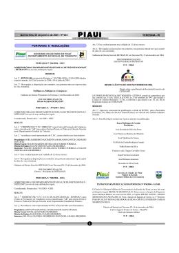 DIARIO 2005(1.06).pmd - Governo do Estado do Piauí
