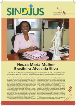 Neuza Maria Mulher Brasileira Alves da Silva - Sindjus-DF