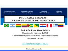 Oficina de Escola Interculturais de Fronteira
