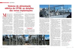 Sistema de alimentação elétrica da CPTM