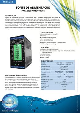 Catálogo - Série 240