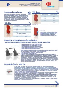 Fornecedora de protetores contra surtos elétricos e