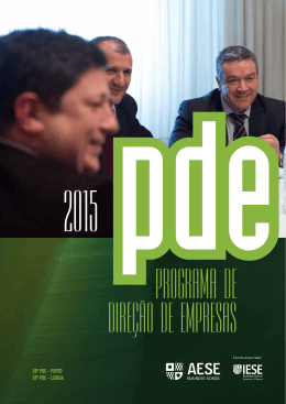 58º PDE - Porto 59º PDE