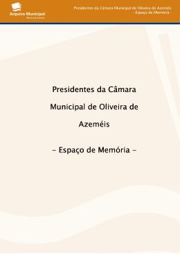 Presidentes da Câmara Municipal de Oliveira de Azeméis