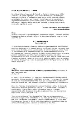 Baixar arquivo em PDF - Colégio Brasileiro de Genealogia