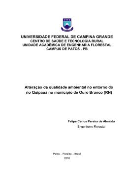 Baixar - CSTR - Universidade Federal de Campina Grande