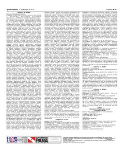 CADERNO 8 7 QUINTA-feIrA, 27 de março de 2014