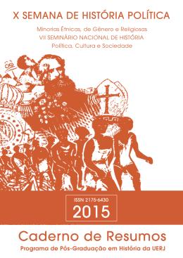 Baixar Caderno de Resumos – X Semana de História – 2015