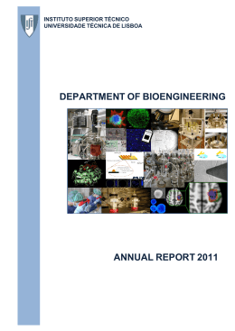 Department of Bioengineering - IST