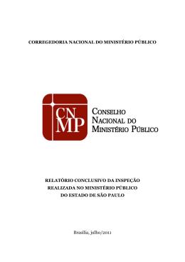 MPE - Conselho Nacional do Ministério Público