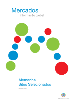 Sites Selecionados - aicep Portugal Global