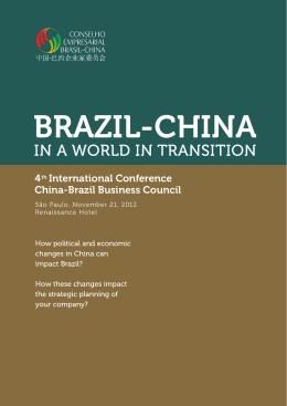 BRAZIL-CHINA - CEBC - Conselho Empresarial Brasil