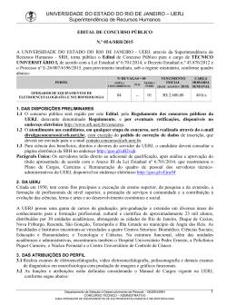 edital de abertura nº 5/2015