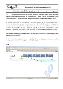 1 - OBJETIVO - ProSiG - Alves Silva