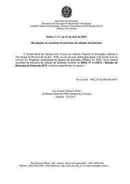 Edital PROEX-IFRS nº 12-2013 - Bolsas de Extensão 2013.docx
