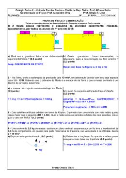 o gabarito da prova da 3 certificação de física (em pdf)