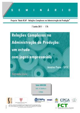 Relações Complexas na Administração da Produção: um estudo