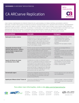 CA ARCserve Replication