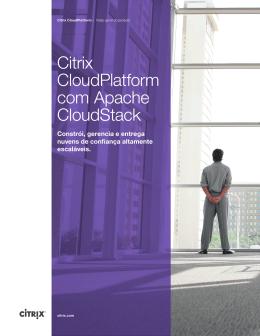 Citrix CloudPlatform com Apache CloudStack