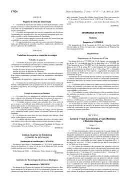 Regulamento de Propinas