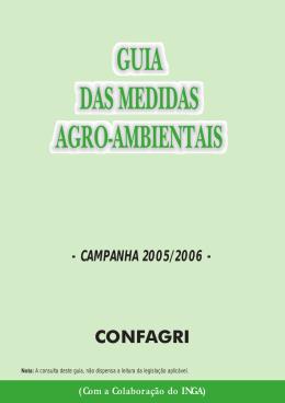 GUIA DAS MEDIDAS AGRO-AMBIENTAIS