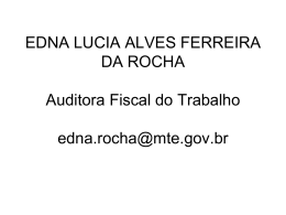 EDNA LUCIA ALVES FERREIRA DA ROCHA