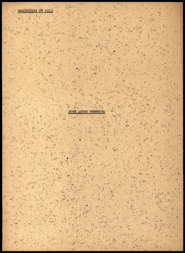 prontuário 1^ 4213 josé alves ferreira