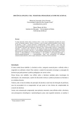 docência online - Movimenta Castro Alves