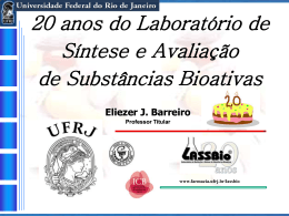 20 Anos do LASSBio