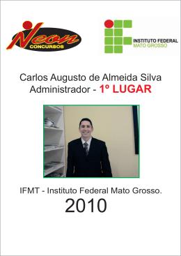 Carlos Augusto de Almeida Silva Administrador