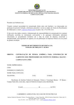 acesse aqui o edital tomada de preço nº. 02/2014