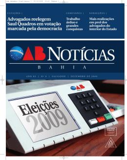 Ano 4 Nº 9. - OAB: Ordem dos Advogados do Brasil