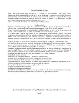 Diário da República - Câmara Municipal de Soure