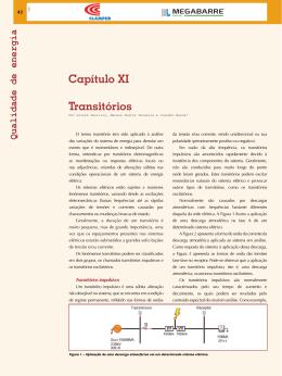 Capítulo XI Transitórios - Revista O Setor Elétrico