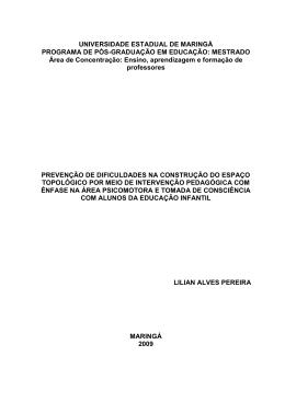 Dissertação - Programa de Pós-Graduação em Educação