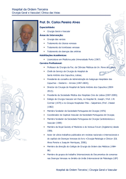 Hospital da Ordem Terceira Prof. Dr. Carlos Pereira Alves