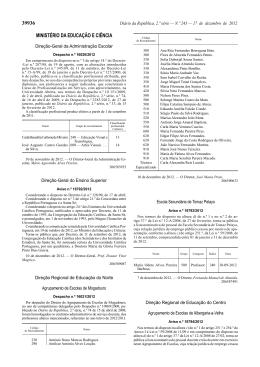 Aviso nº 16792/2012 - Universidade Católica Portuguesa