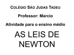 segunda lei de newton - Faculdade São Judas Tadeu