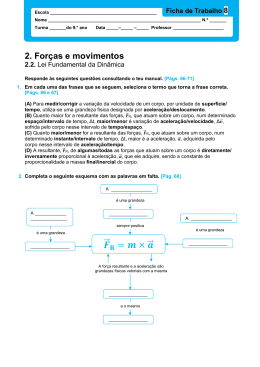 8_Lei Fundamental da Dinâmica