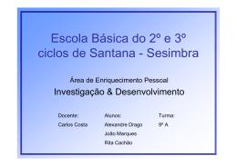 Escola Básica do 2º e 3º ciclos de Santana