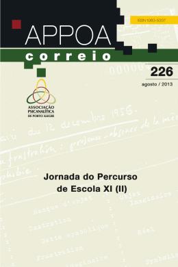 Correio nº 226 - APPOA - Associação Psicanalítica de Porto Alegre