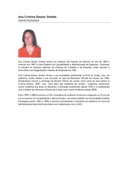 Ana Cristina Doutor Simões