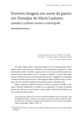 09. Ana Cristina Cachola - Revista Comunicação e Cultura