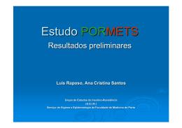 Luis Raposo, Ana Cristina Santos - Grupo de Estudo da Insulino