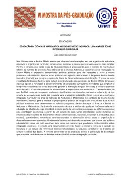 MESTRADO-EDUCAÇÃO-Ana Cristina da Cruz