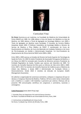 CV-RUI NUNES - apbioetica.org