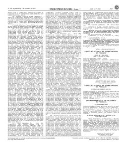 ISSN 1677-7069 - Conselho Regional de Nutricionistas